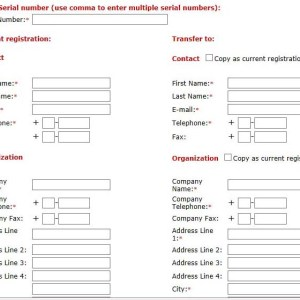 Rockwell Automation Transfer Registration Form