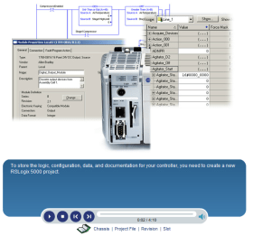RSLogix 5000 Start Page Videos Section 3 First Project