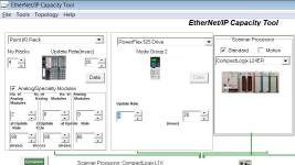 Using the EthernetIP Capacity Tool 9
