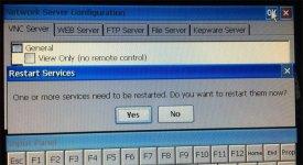12 PanelView Plus 6 Control Panel Server Config Applet Exit Confirm