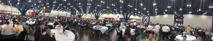 Automation Fair Lunch Panoramic