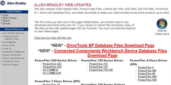 The one website you need to know when using Allen-Bradley Drives (VFD)
