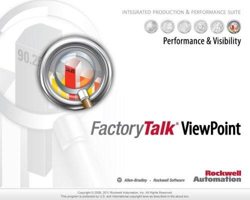 FactoryTalk ViewPoint Splash
