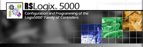 RSLogix 5000 Banner