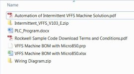 Micro850 VFFS Sample Code Files