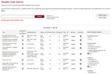 Sample Code Library Website Last 30 days