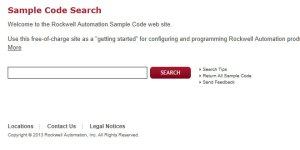 Sample Code Library Website Featured Image