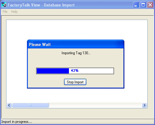 Tag Import and Export Wizard Step 8