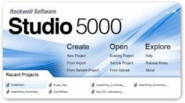 Studio 5000 Logix Designer Splash