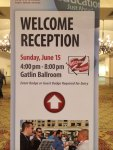 RSTechED 2014 3 Welcome Reception Sign