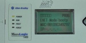MicroLogix-1400-LCD-ENETcfg-Status