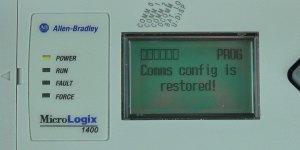 MicroLogix-1400-LCD-DCOMM-Menu-Disable-Conf