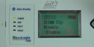 MicroLogix-1400-LCD-DCOMM-Menu-Enable-Sel