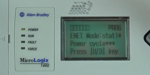 MicroLogix-1400-LCD-ENETcfg-Menu-IP-Mode-Static