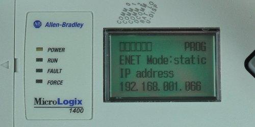 MicroLogix-1400-LCD-ENETcfg-Menu-IP-Static-Entry-1