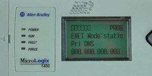 MicroLogix-1400-LCD-ENETcfg-Menu-IP-Static-PDNS-Entry-0