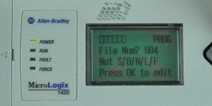 MicroLogix-1400-LCD-Monitor-Menu-4-Sel