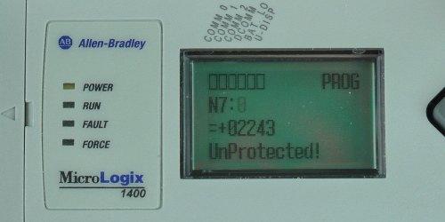 MicroLogix-1400-LCD-Monitor-Menu-N7-0-Set