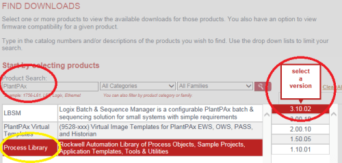 How to Download PlantPAx Process Objects 3
