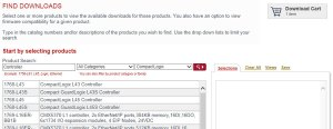 Download A-B PLC Firmware Step 5