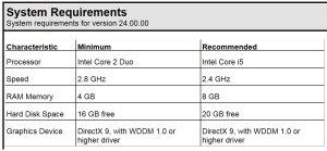 Studio 5000 v24 System Requirements