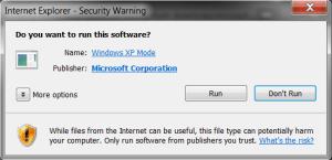 Windows XP Mode 06