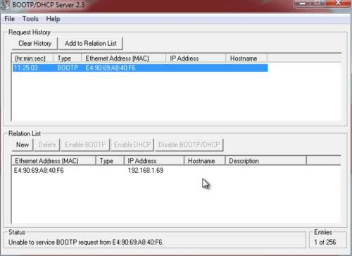 BootP CompactLogix 9 BootP-Done
