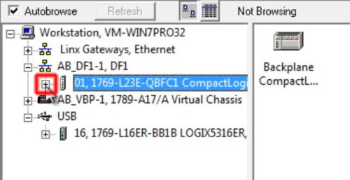 RSLinx to CompactLogix Change IP 2 Expand-L23h