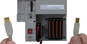 RSLinx to CompactLogix via USB Fi