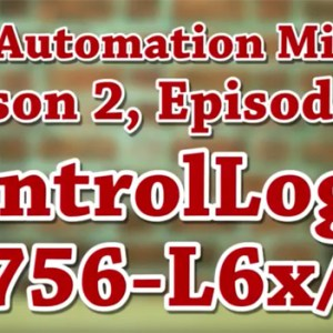 Episode 45 from Season 2 of The Automation Minute
