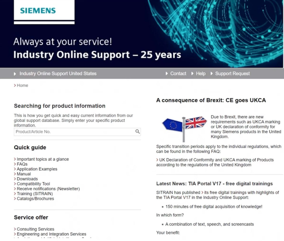 Tech Tip: Quickly Find Siemens Documents and Downloads