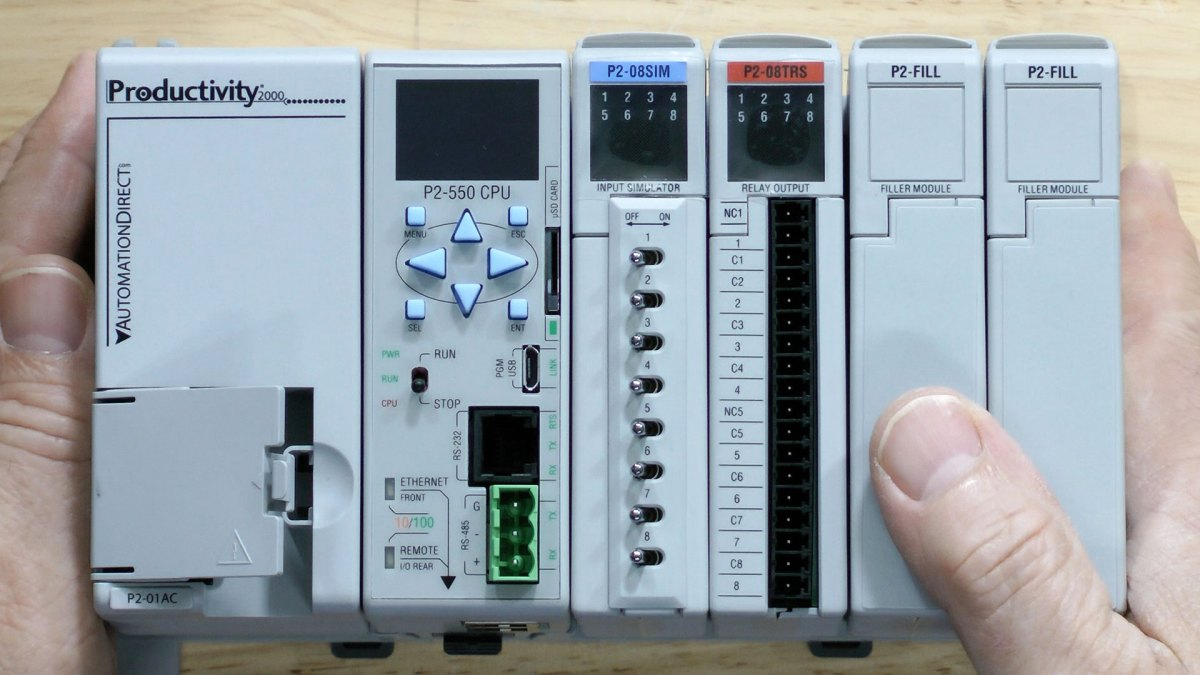 First Look: Productivity 2000 PLC Starter Kit