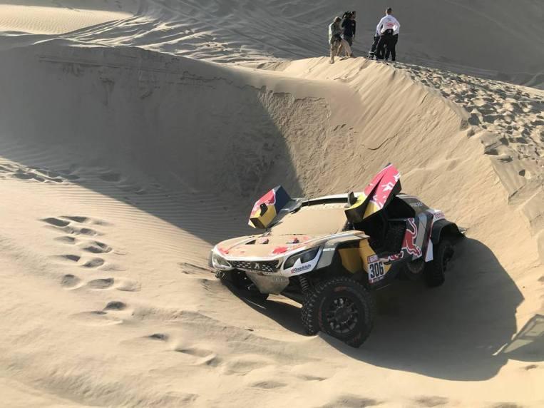 Loeb et Elena abandonnent dans le Dakar 2018.4