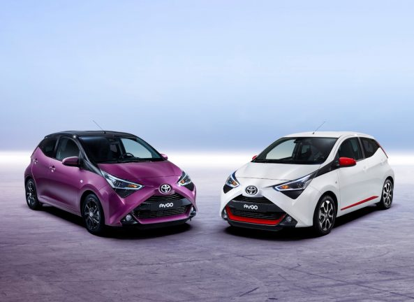 toyota aygo 2018 restylage class x the automobilist. Black Bedroom Furniture Sets. Home Design Ideas