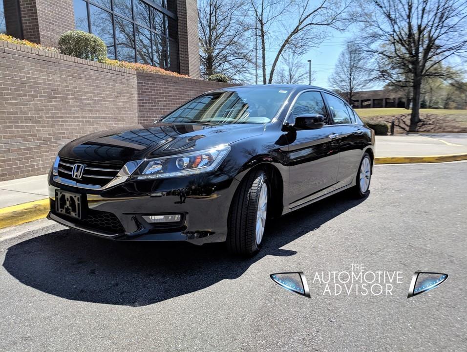 2015 L Ex Black Honda Accord