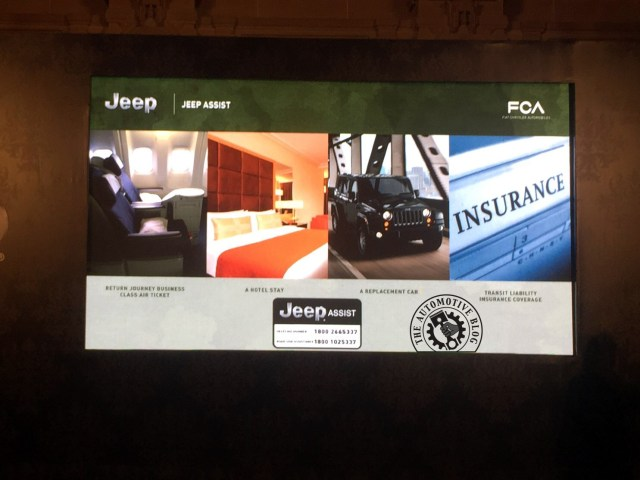 Jeep Assist Plan India