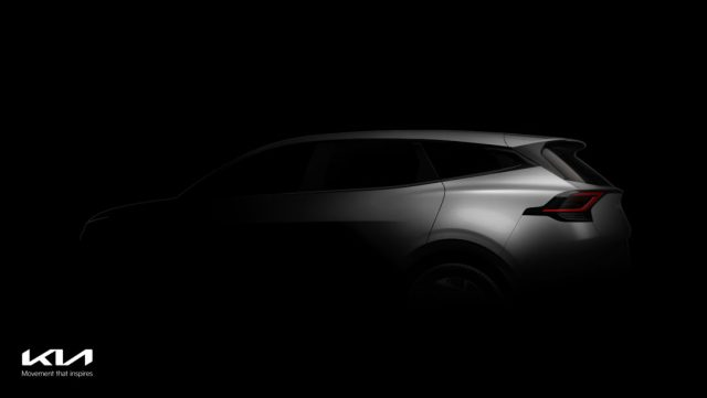 Kia teases the first images of the all-new