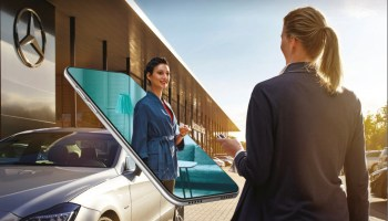 Mercedes announces the industry's first