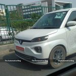 [EXCLUSIVE] Maruti Suzuki Wagon R EV spotted without any camouflage for the first time