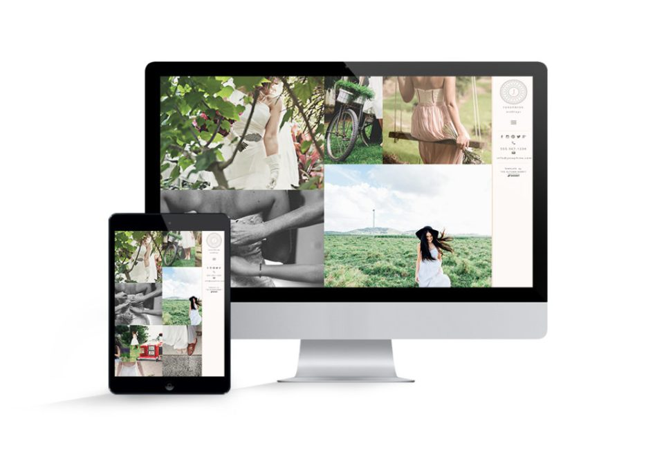 Showit 5 template for sale Josephine