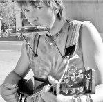 Rasta Street Musician