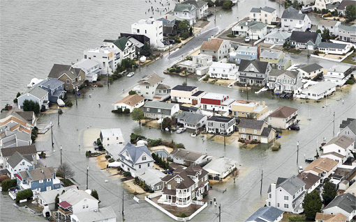East Rockaway, just after Sandy
