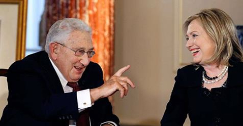 Kissinger&Hillary