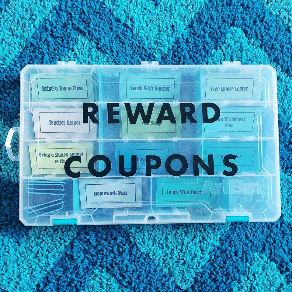 Organization on a budget - coupons