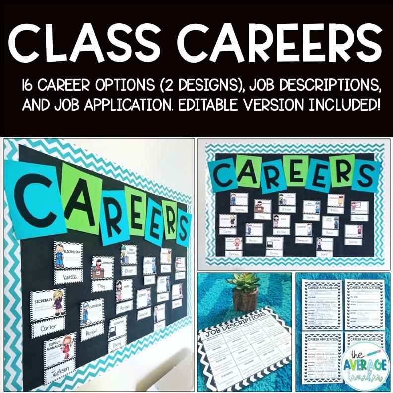 classroom jobs on tpt
