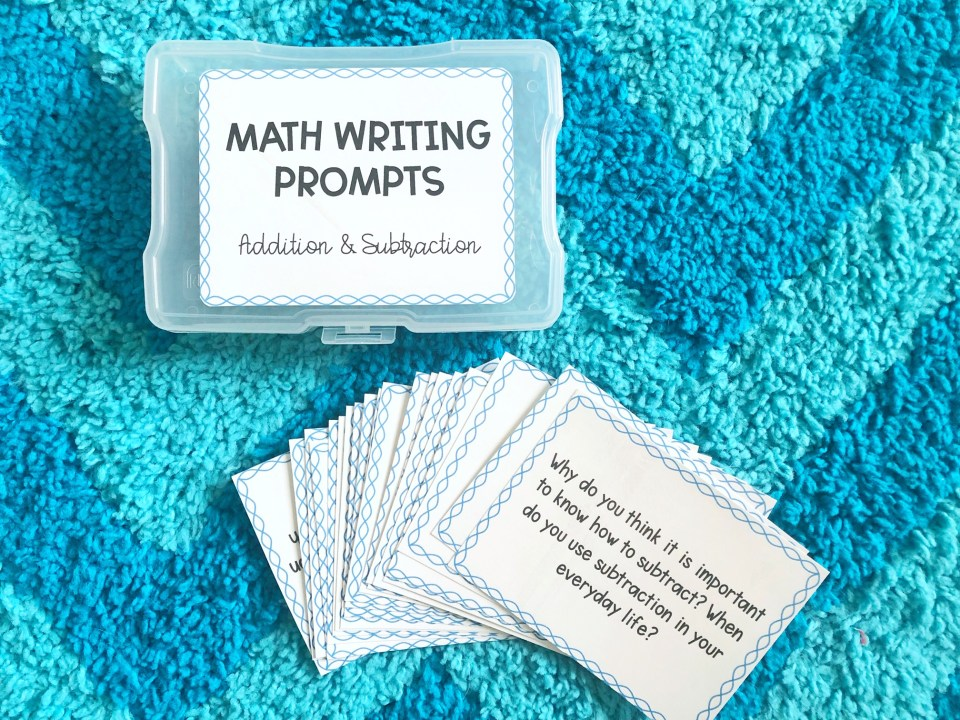 writing-in-math-prompts
