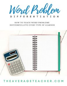 How to Teach Word Problems - free e-book