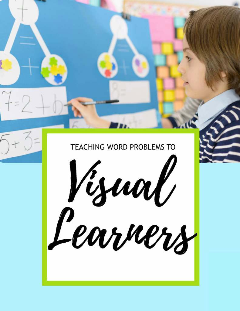 Teaching visual learners how to solve word problems