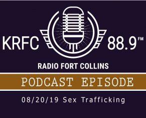 KRFC Radio Fort Collins podcast logo