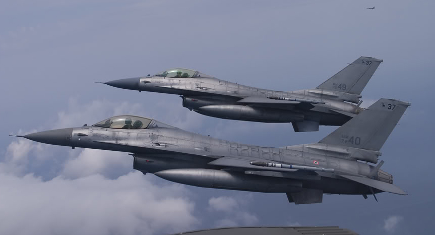 Supersonic scramble for the Italian F-16 Jets – The Aviationist